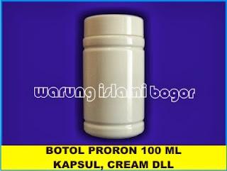 Jual Botol Plastik Pro Round Putih Susu