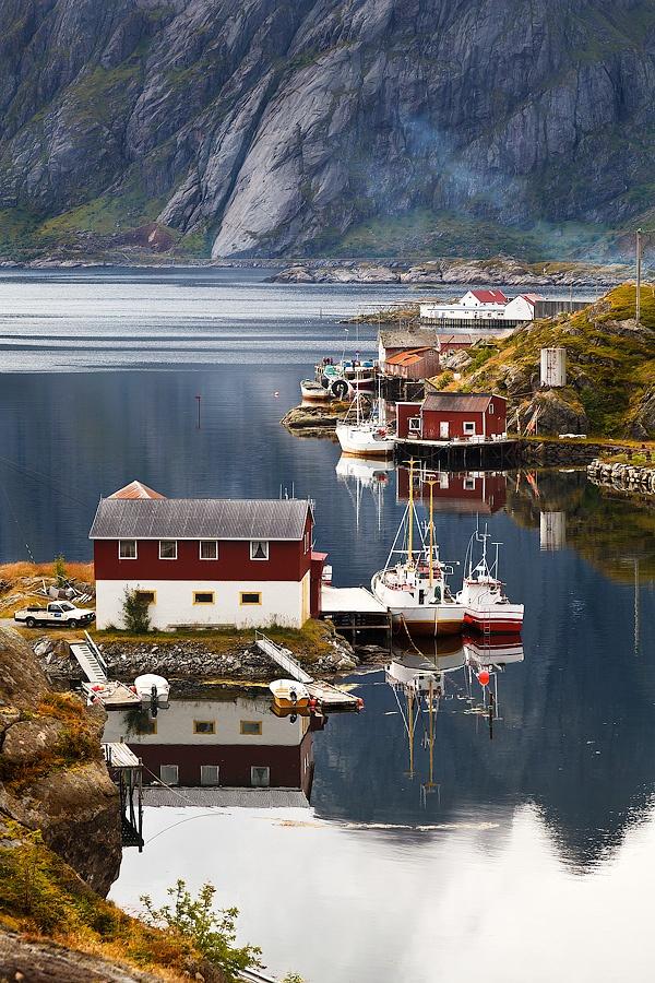 Sund,Lofoten Island Norway