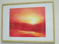 El amanecer pintado por Ursula Lappas