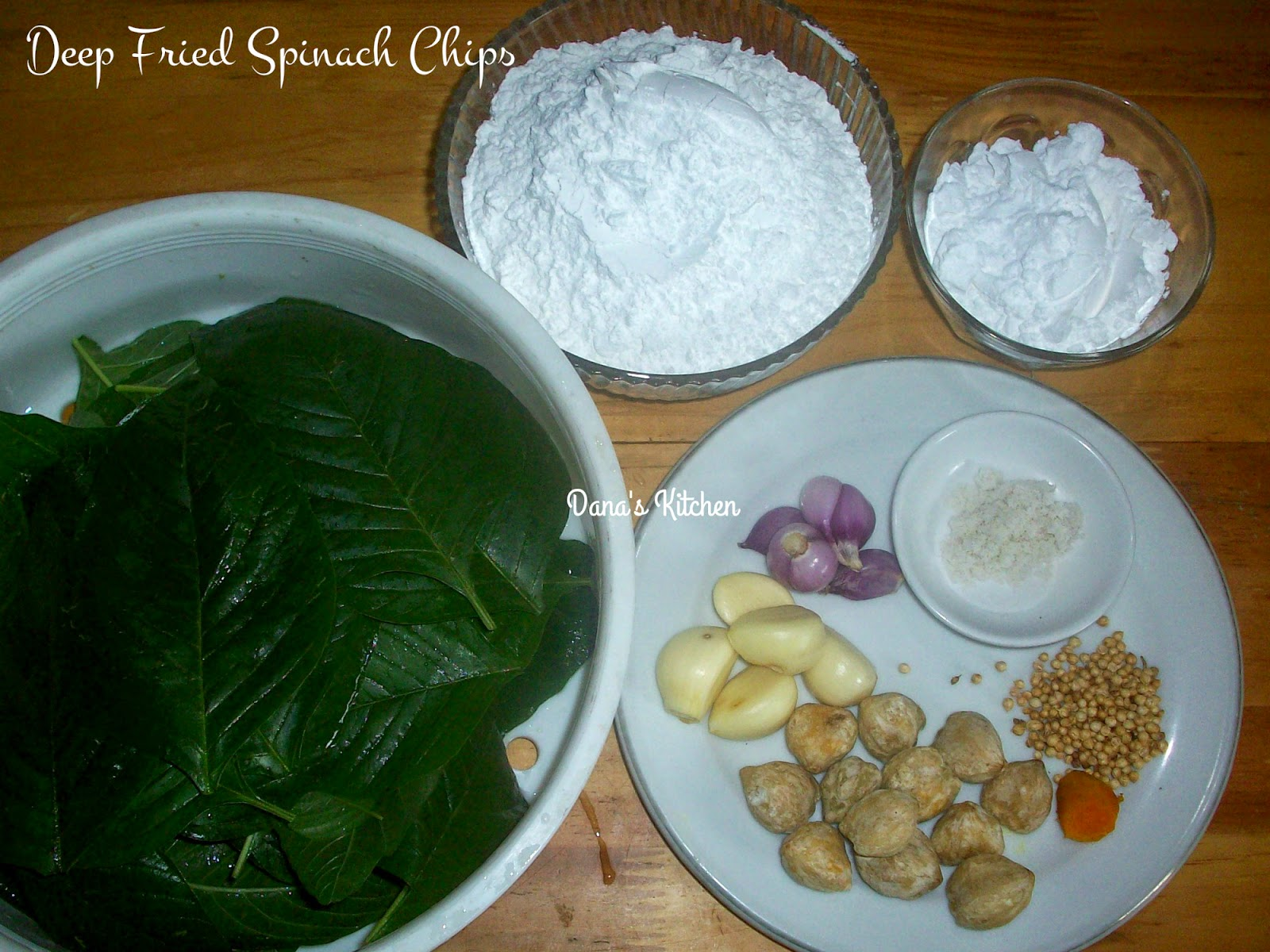 how to prepare fresh spinach leaves