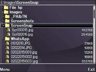 Lokasi Penyimpanan Screenshot di kartu memori