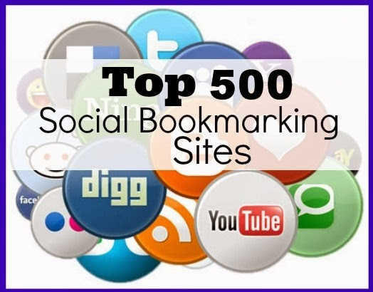 Top 500 Social Bookmarking Sites list