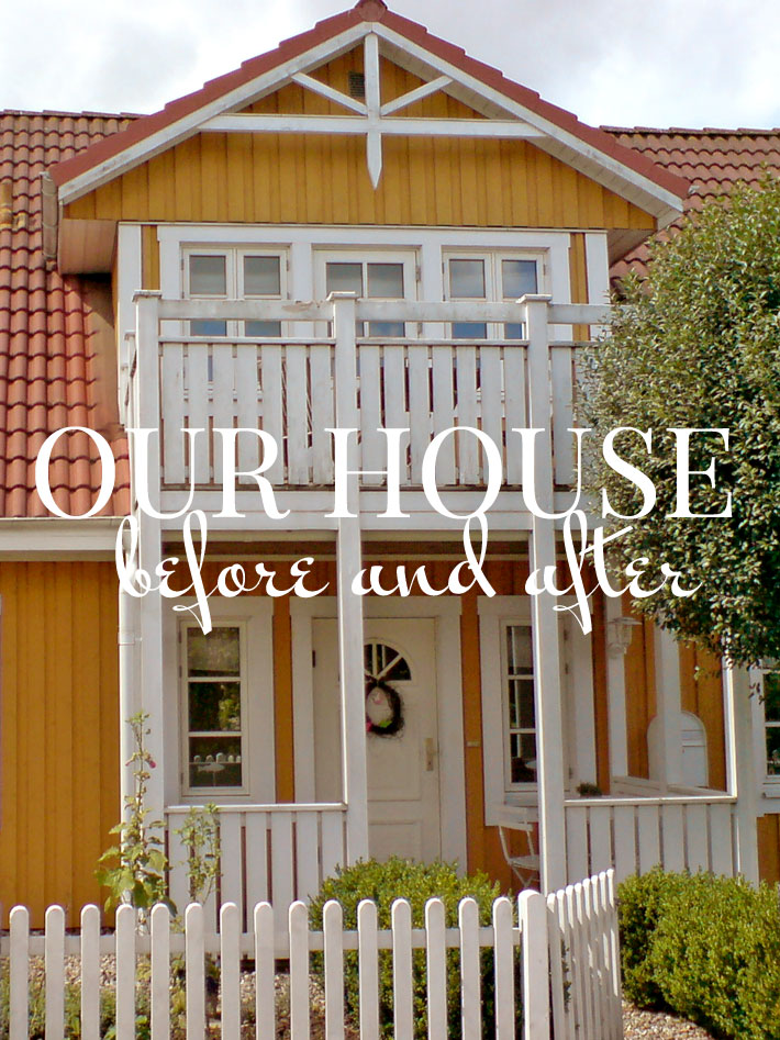 Schwedenhaus blau  Unser Schwedenhaus von Skagen-Gelb zu Schwarz | Amalie loves Denmark
