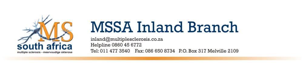 MSSA Inland Branch
