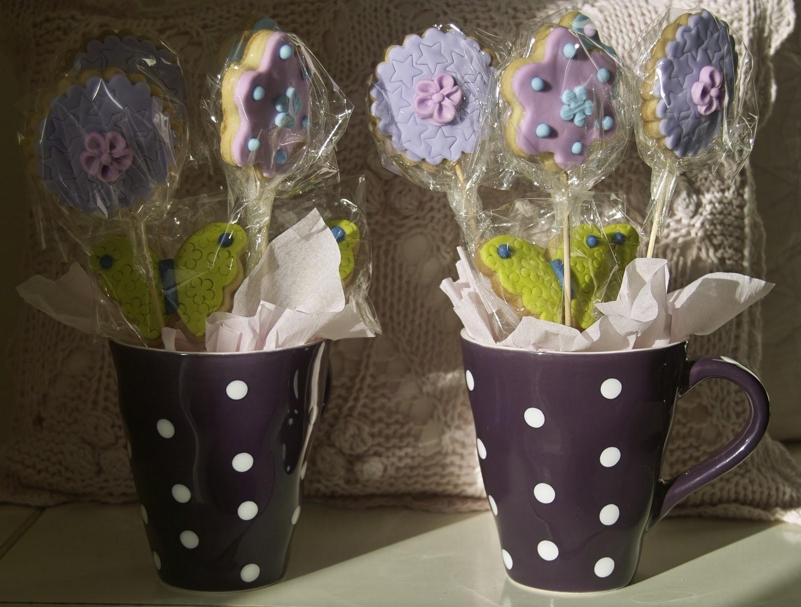 De dulces y m s receta de galletas de mantequilla - Como decorar una taza ...