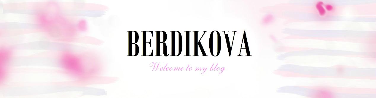 Berdikova Blog