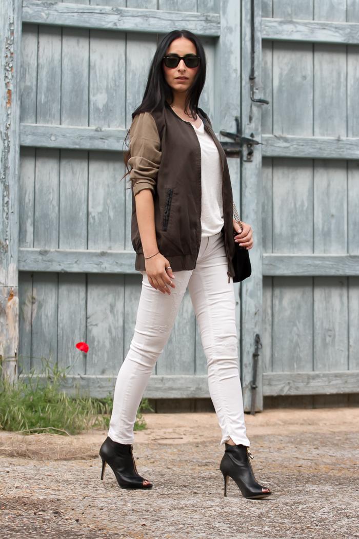 Jeans blancos de Meltin' Pot