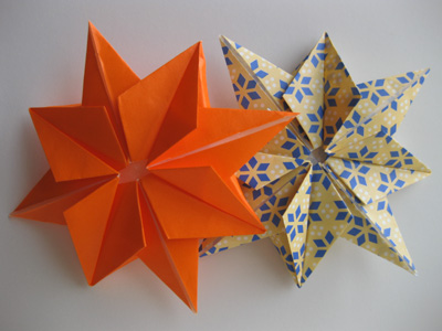 Holiday Presents Origami Paper Stars