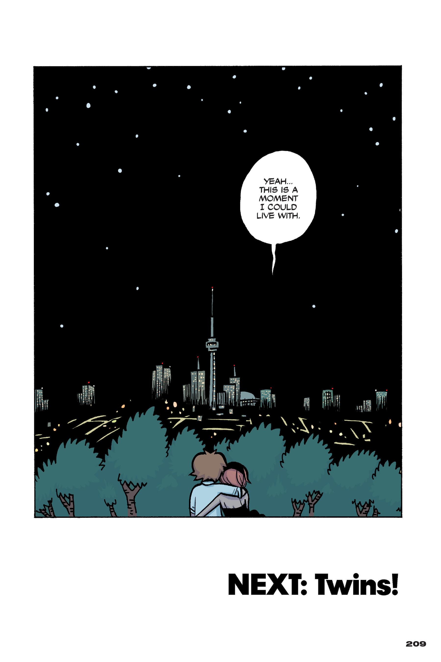 Read online Scott Pilgrim comic -  Issue #4 - 204