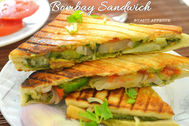 Grilled Bombay Sandwich / Healthy sandwich Recipes