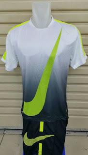 gambar detail jersey dan enkosa.com toko online pakaian oolahraga enkosa sport Jersey setelan futsal Nike GPX Flash Putih 2015