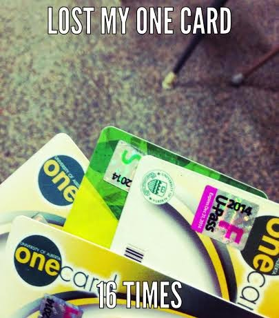 ONEcard, Ucard, ONEpass, U-Pass, whatever it's called!