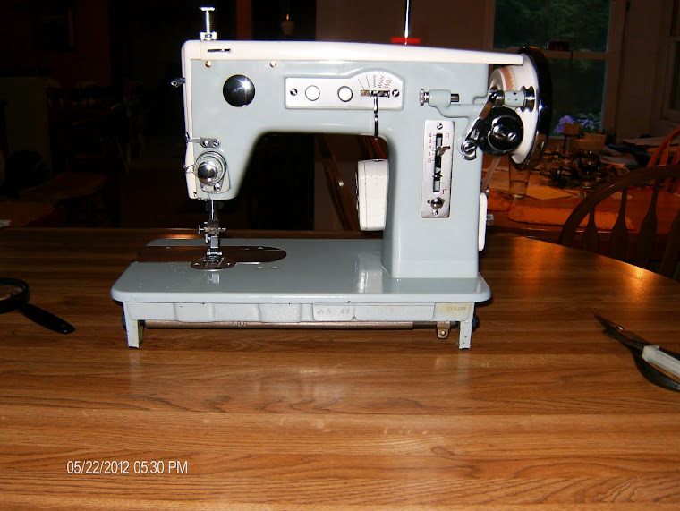 Vintage sewing machines and other fun stuff