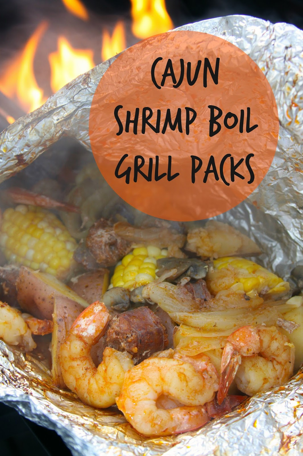 For the Love of Food: Cajun Shrimp Boil Grill Packs