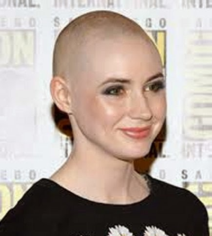 Indifferent Shaved Hairstyles for Women