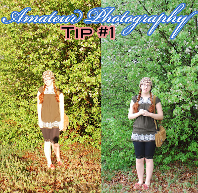 amateur photography tip