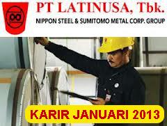 Lowongan Kerja 2013 PT. Pelat Timah Nusantara, Keuangan, Audit, Sales