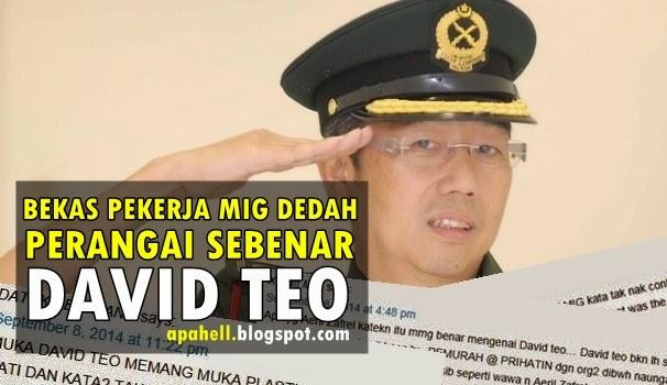 Bekas Pekerja MIG Dedah Perangai Sebenar David Teo