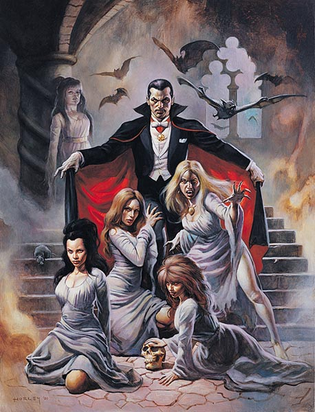 """[NEWS]Una serie de TV de """"Drácula"""" Vampiras"""