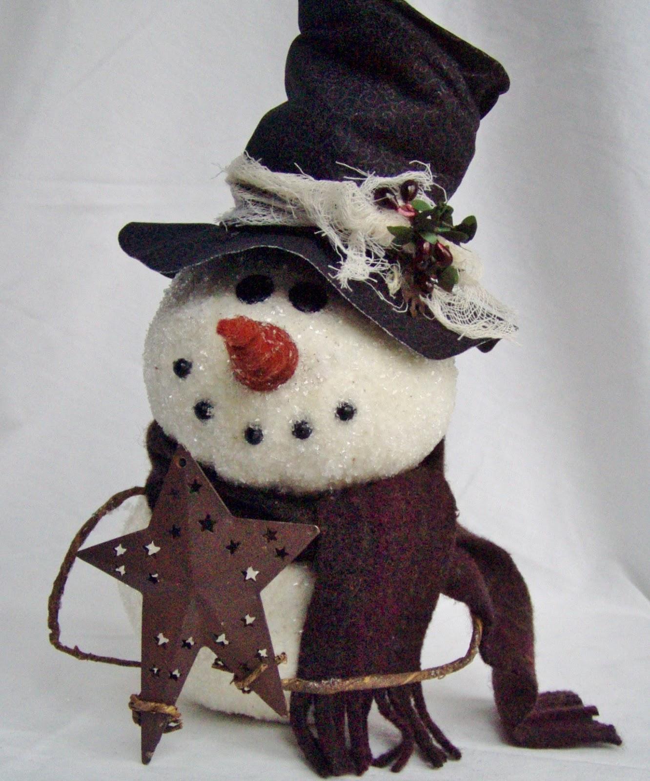 happy valley primitives a new epattern meet my snowman. Black Bedroom Furniture Sets. Home Design Ideas