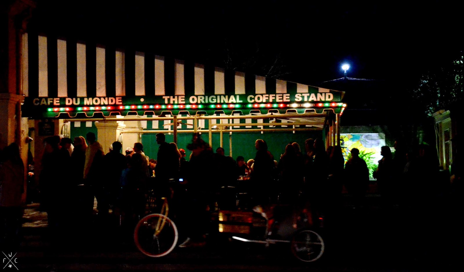 Café du Monde - French Quarter, La Nouvelle-Orléans, Louisiane, USA