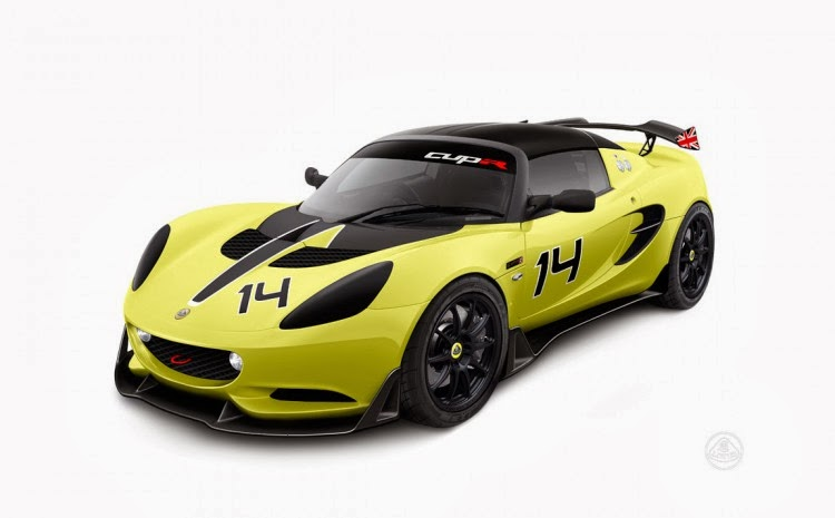 2014 lotus elise s cup r officially unveiled at autosport. Black Bedroom Furniture Sets. Home Design Ideas