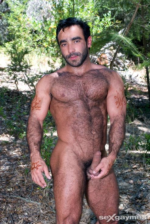 senior gay man nude