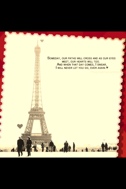 our eyes will meet Free alone quote wallpaper