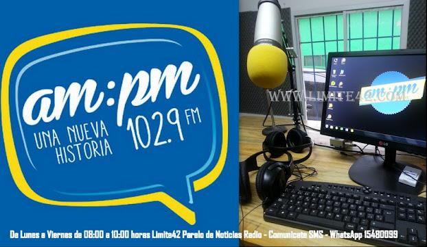DE LUNES A VIERNES DE 8 a10 Hs  LIMITE42 RADIO