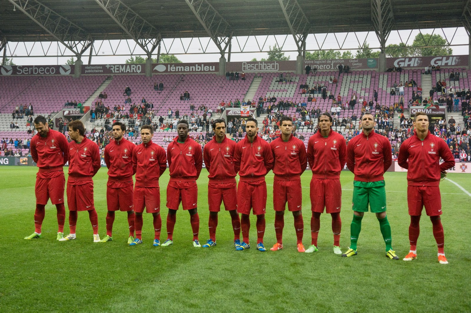 Football Team Portugal National Wallpapers
