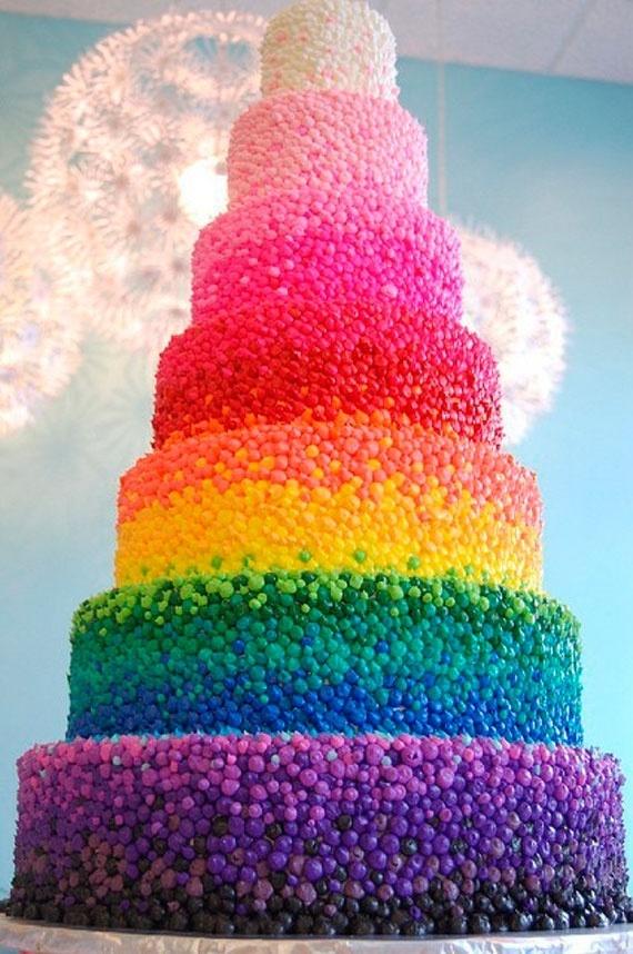 dan ini diiaaa:, gambar2 lucu nya Rainbow Cake: