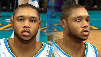 NBA 2K13 Eric Gordon Cyberface Patch
