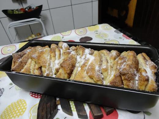♥ Um pão e coração doces...♥