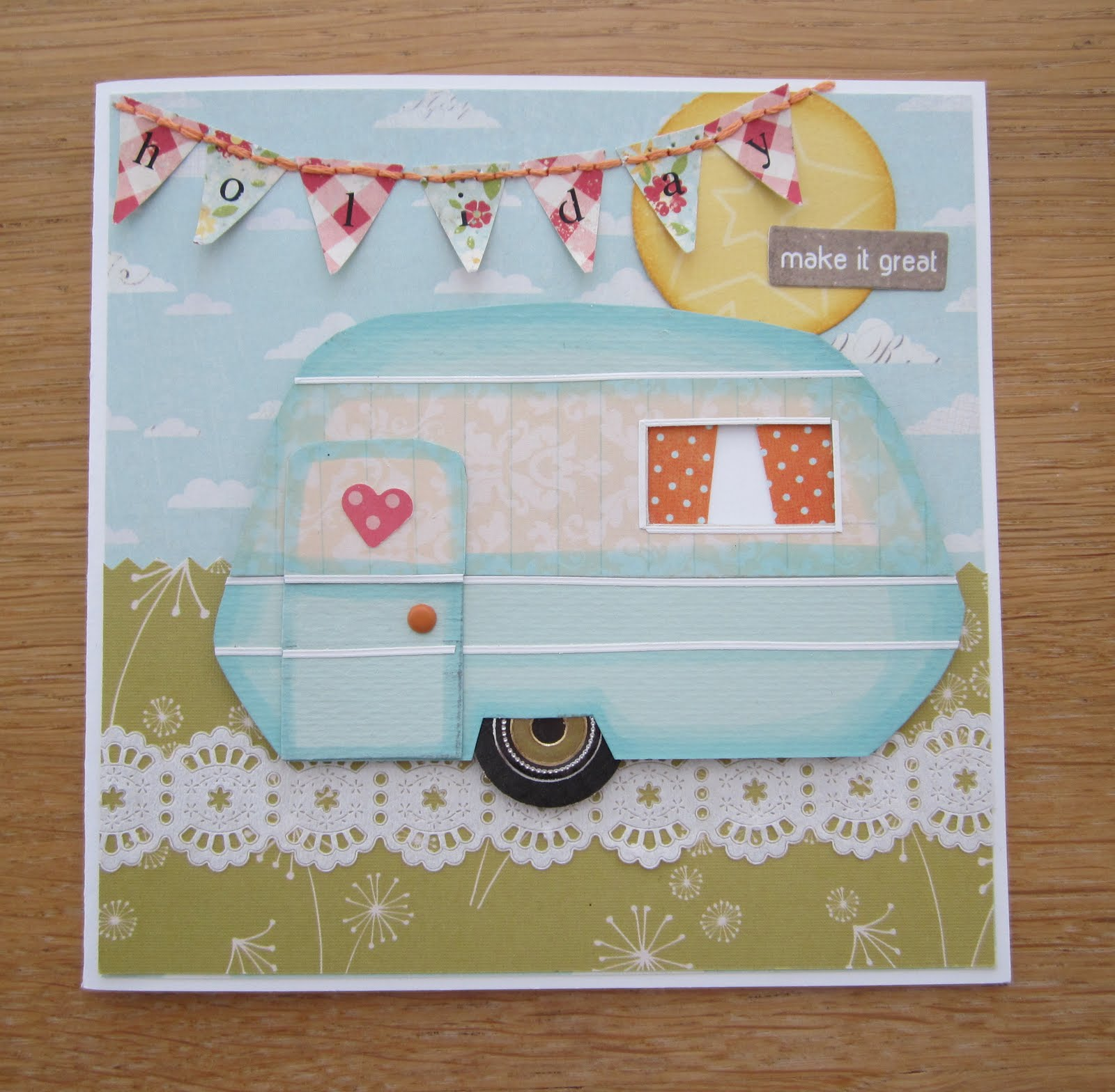 Daring Cardmakers Challenge - Wish You Were Here! | Dolly Mixtures