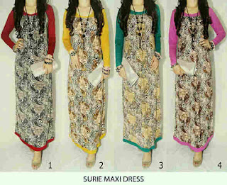 Surie Maxi Dress fit to L