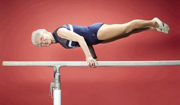 La gimnasta más longeva del mundo