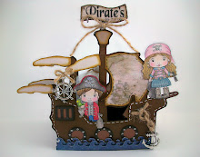 Pirate's Ship Birthday Card