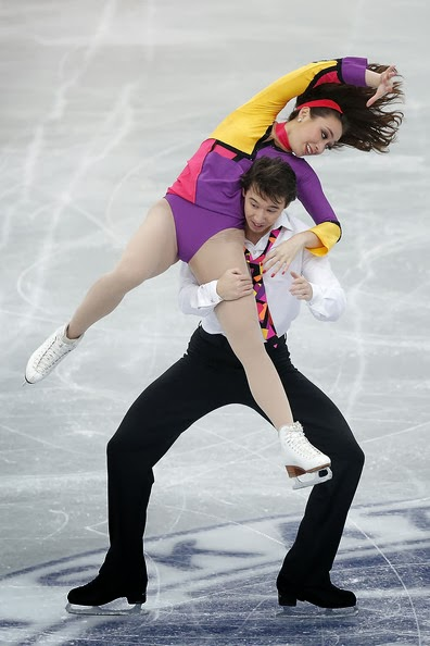 Reed and Reed of Japan, in their 2012-2013 Season Short and Free Dance