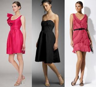 Três vestidos curtos para festas