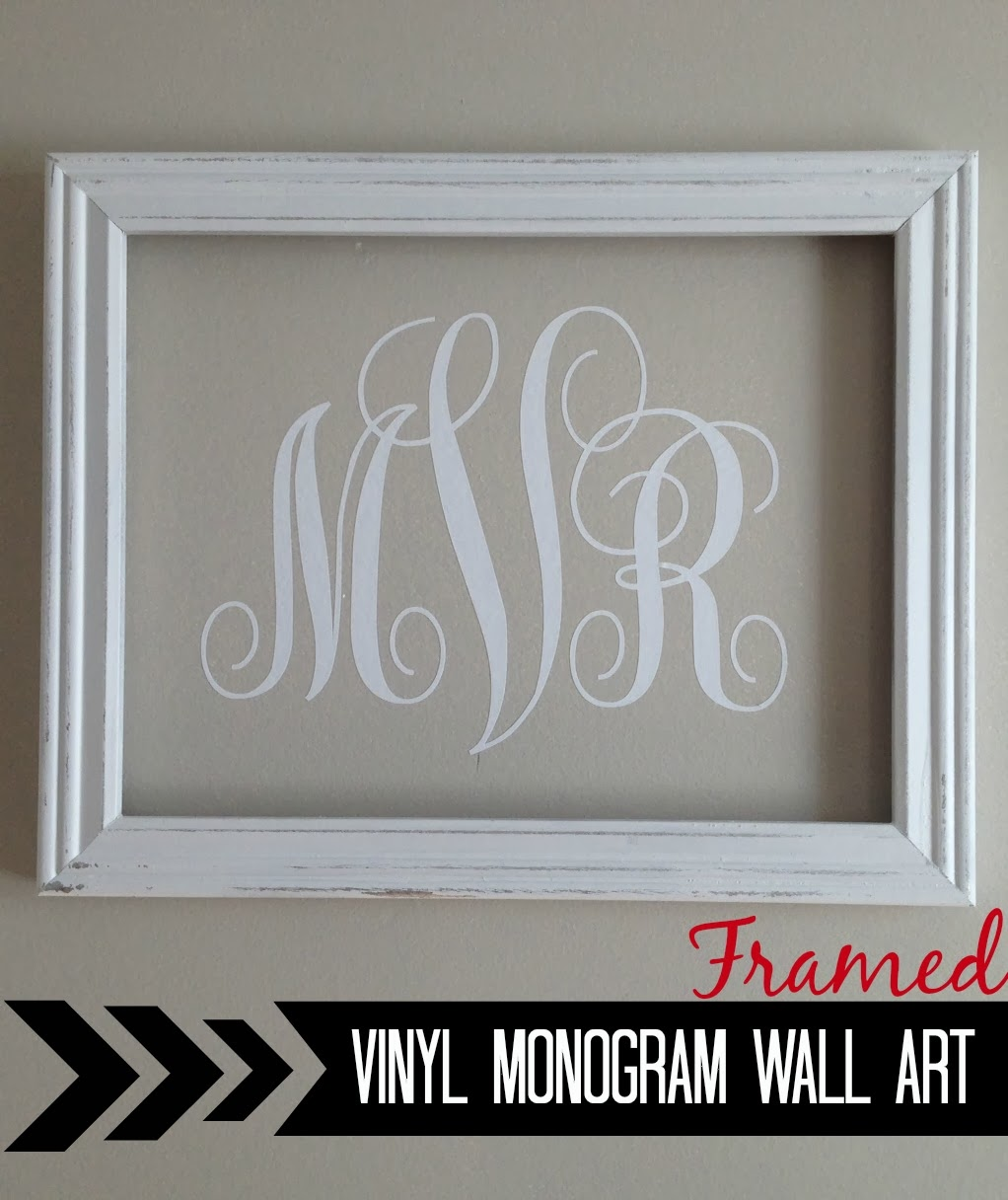 Monogram Wall Art silhouette} vinyl monogram wall art - silhouette school