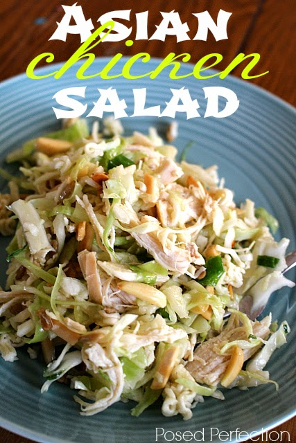 Asian Chicken Slaw Salad