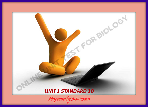 ONLINE UNIT TEST   STANDARD 10