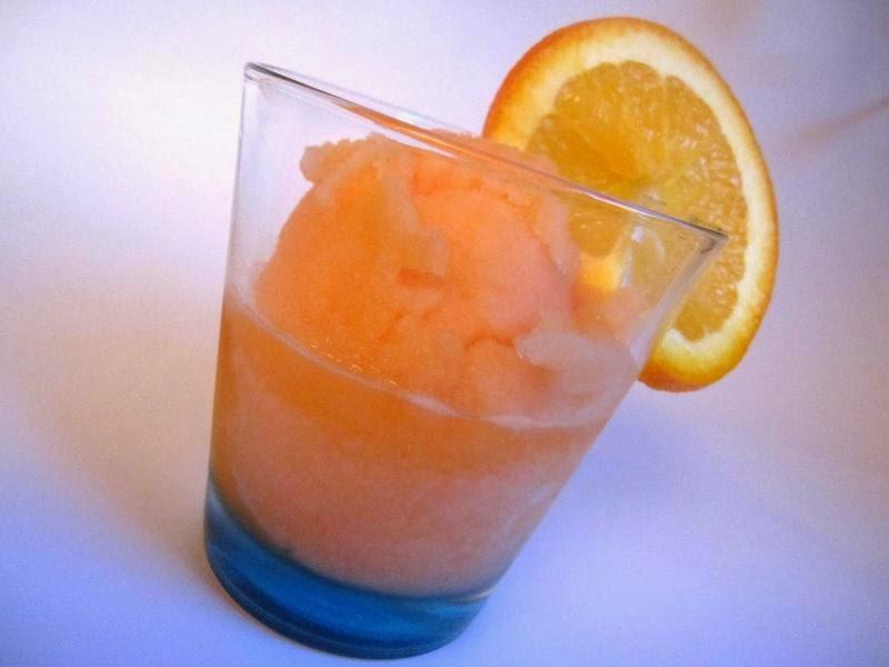 Le ricette di re gelato sorbetto allo spritz aperol for Bicchieri aperol spritz