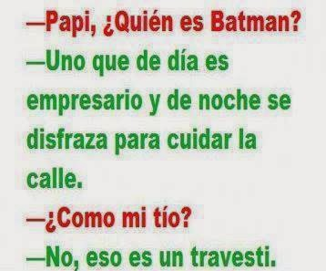 Papa quien es batman