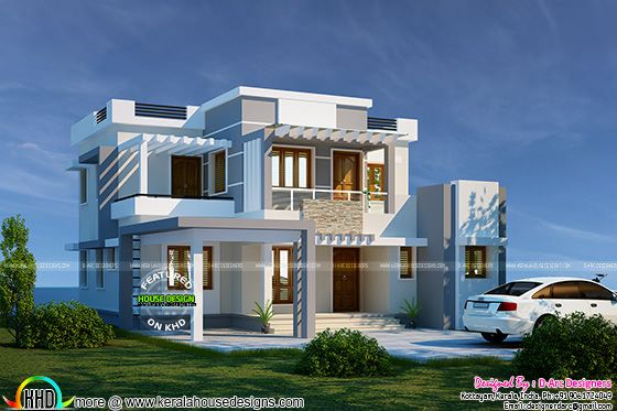 Vastu Compatible contemporary home
