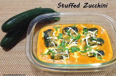Stuffed Zucchini bharwa turayi