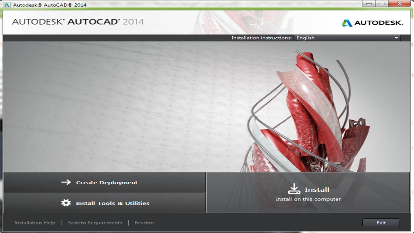 2014 English [32 - 64 bits] [+ Crack keygen] [Autodesk AutoCAD 2014
