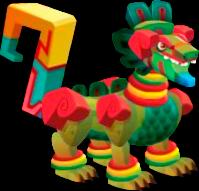 dragon azteca adulto
