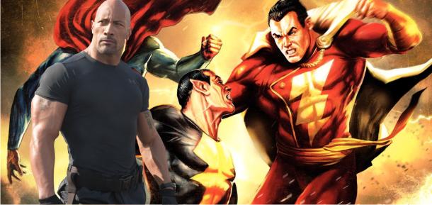 Dwayne Johnson ainda tem que escolher: Shazam ou Adão Negro será o seu personagem da DC Comics