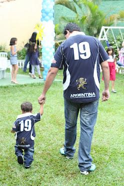 Saia do Convencional Pai e Filho Imagem e Semelhança no dia da Festa,a loja certa em Brasília !